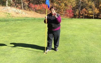 Carmyn Young got a  hole-in-one