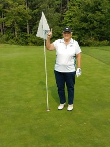 Sylvia Prive hole in one